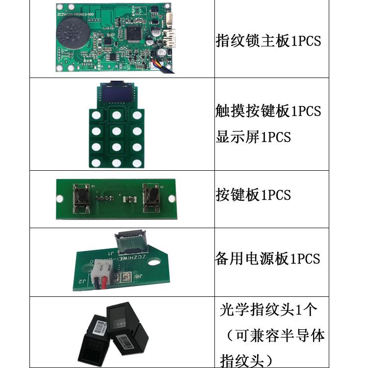 可方便嵌入各种电子产品中,如指纹锁,电动机,打印机等.
