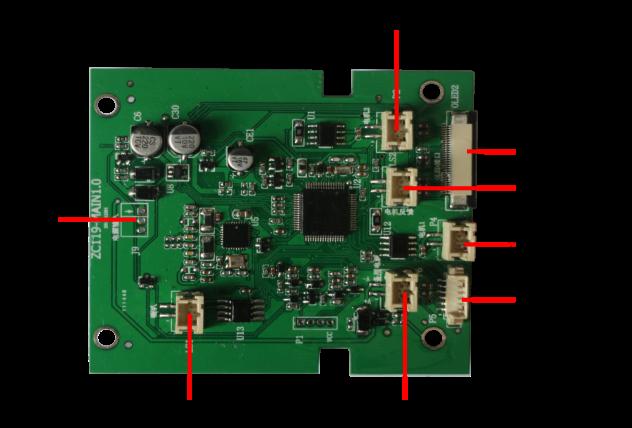 ZC119指纹锁电路板
