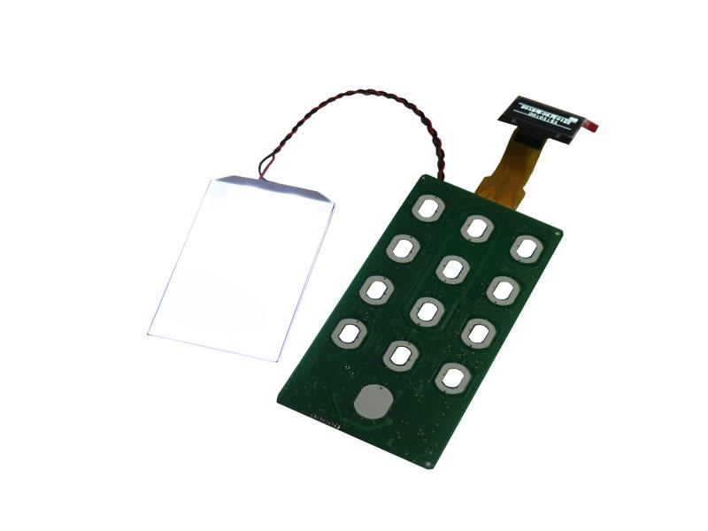 指纹锁主板ZC696-699