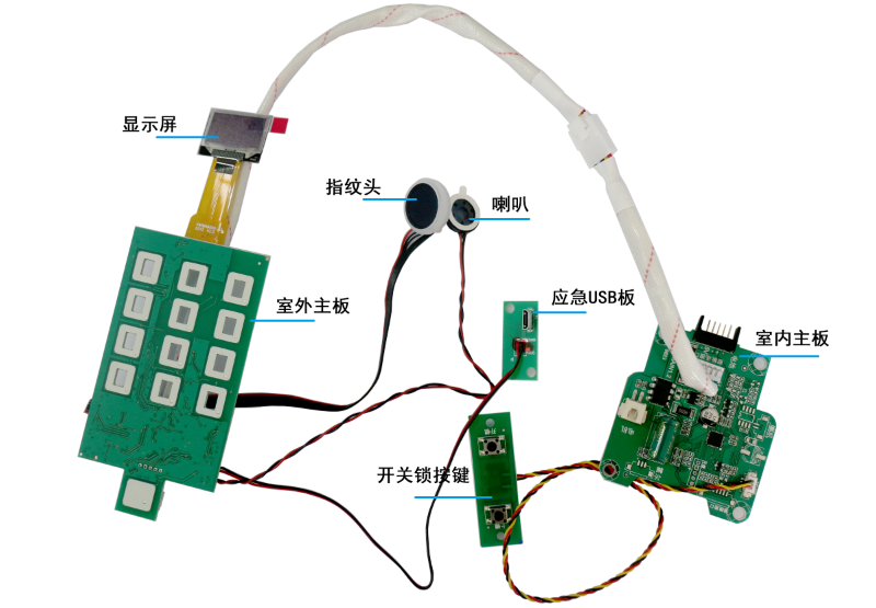 密码锁电路板ZC869A-B